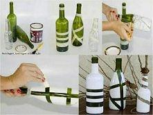 jak ozdobić butelki