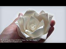 Origami Rose of Kade Chan t...