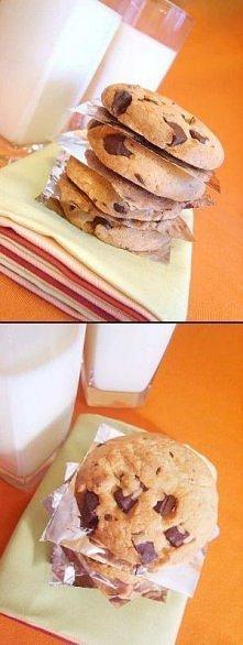 Kruche ciasteczka z kawałka...
