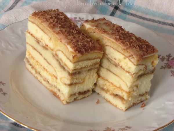 Ciasto kawowo-biszkoptowe
