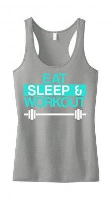 Jedz, śpij i ćwicz. Dodałab...
