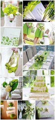 Ślub i wesele w kolorze zie...