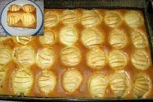 Ciasto z jabłkami na słodki...