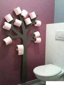 Drzewko w łazience