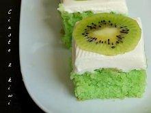 Zielone ciasto cytrynowe