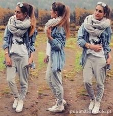 Najlepsza stylizacja z 15 lutego: szare dressy od: paaati2501