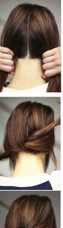 #knotty_ponytail