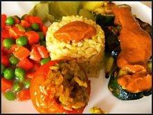 pyszny obiad wegański -kliknij w zdjęcie