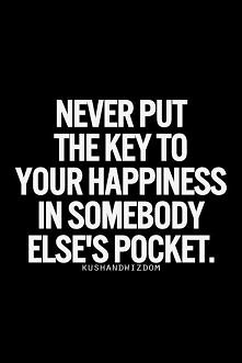61. Key to your happiness