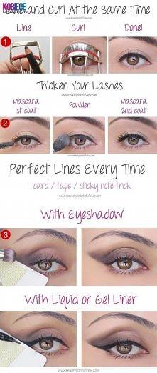 trzy triki makijażowe