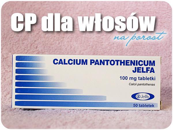 """""""Czym jest Calcium Pantothenicum? Kwas pantotenowy (witamina B5) zawarty w tabletkach przyspiesza gojenie się ran, wpływa na regenerację skóry, wzrost włosów i paznokci. Witamina B5 hamuje siwienie i wypadanie włosów, zapobiega przedwczesnemu starzeniu, wykazuje działanie przeciwzapalne i uwaga - pomaga spalać tłuszcz:). Jak widzicie wiele pozytywnych działań ! Na szczęście kwas pantotenowy możemy przyjmować bezpiecznie - jego nadmiar jest usuwany z organizmu."""" Zaczynam go stosować od dziś i zobaczę czy działa! Zależy mi głównie na włosach ;)"""