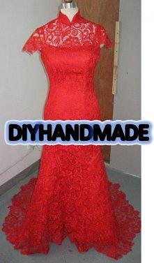 hand made  -sukienkao kroju...