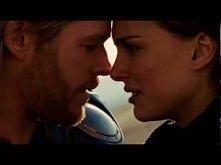 Thor & Jane Kissing Scene