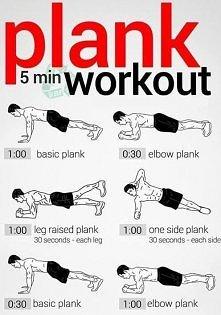 Trening z wykorzystaniem wszechstronnego ćwiczenia jakim jest - plank, czyli nasza ulubiona deska!  Powodzenia :) Lato czeka!