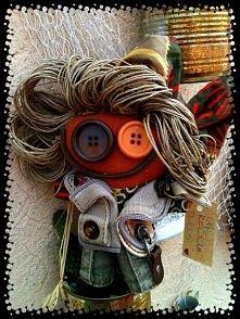Lalki z recyklingu K.Zekan