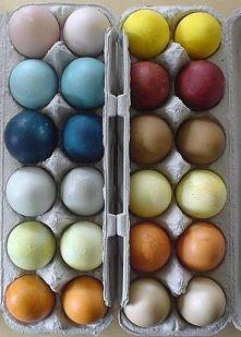 domowe sposoby na farbowanie jaj