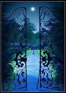 *** Księżycowa Garden Gate ...