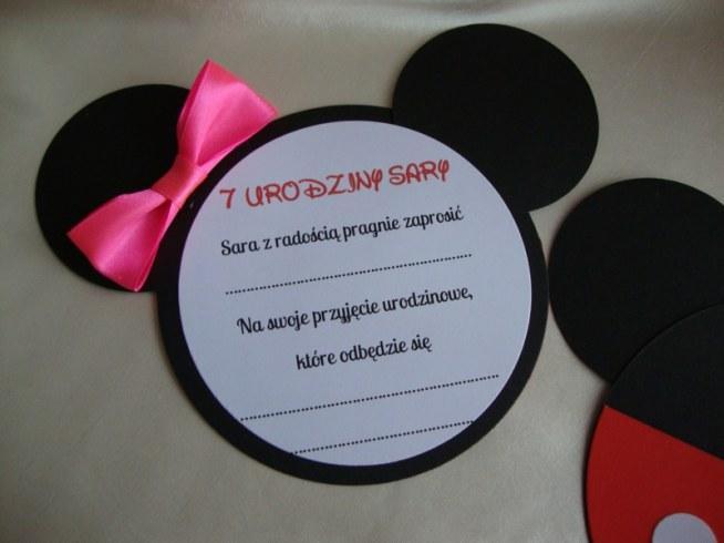 Zaproszenia Miki Na Httpmadiglablogspotcom Zszywkapl