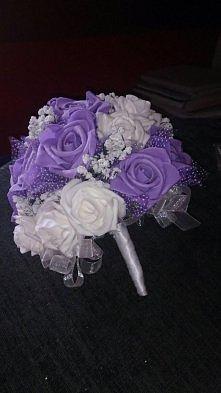 wykonany przeze mnie na mój własny ślub