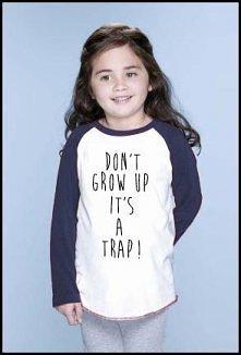 Studio Agama - Don't grow up Kid's (navy)