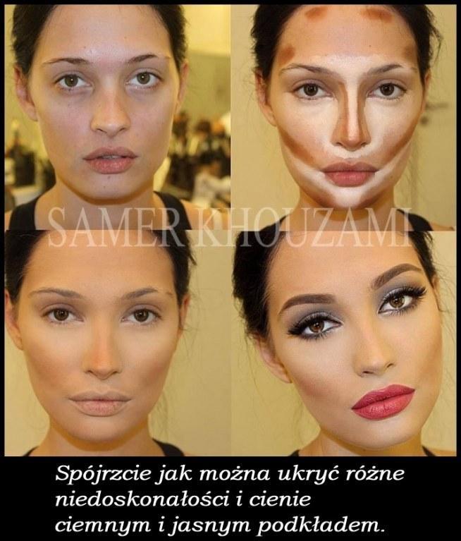 Trik makijażowy