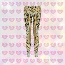 Mr. Gugu & Miss Go - Leopard leggings for kids