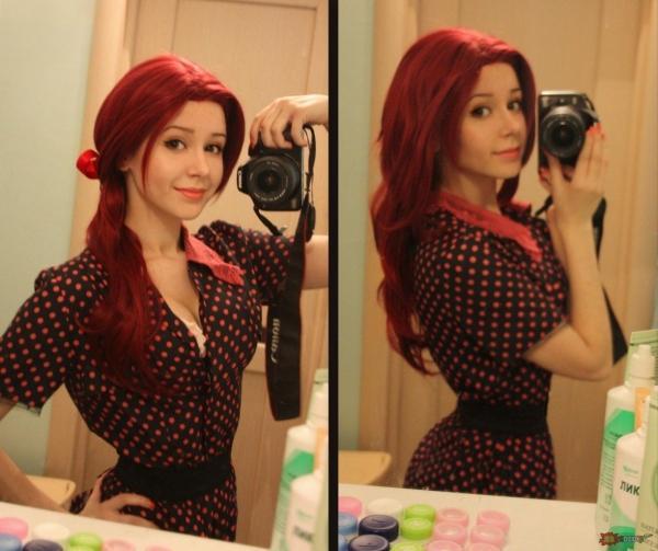 Piękny kolorek i piękna dziewczyna :)