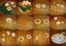 Krok po kroku łabędzie z jajek