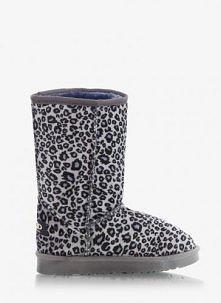DeeZee - Botki Mukluki Panterka Leopard Black