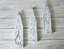 drewniana dekoracja w skand...