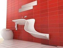 ciekawe rozwiązanie dla łazienki.