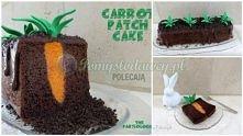 tort dla ogrodnika lub fana królików