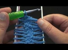 Left Hand Version - How to Make crochet HairPin Lace