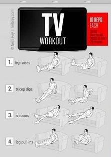 4 ćwiczenia podczas oglądan...