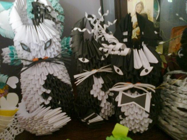 kociaki origami