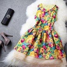 wiosna zbliża się szybkim krokiem, a my jej pomagamy =)   wiosenna sukienka, ...