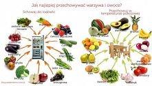 Jak przechowywać owoce i warzywa :)