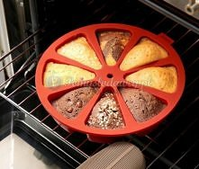 forma do odrazuu pokrojonego ciasta