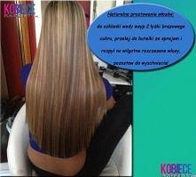 NATURALNE PROSTOWANIE włosów!!! Domowy sposób DIY!