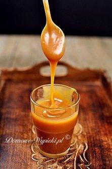sos karmelowy Sos karmelowy możemy użyć np. do polania lodów, serników, szarl...