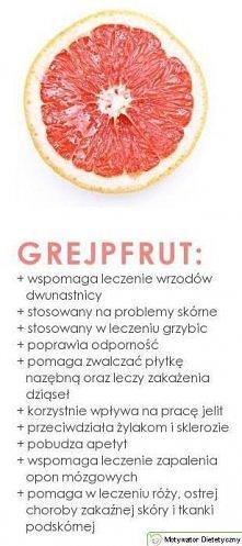 Grejpfrut najlepsz dietetyczna przekąska
