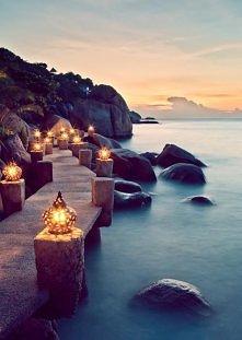 Nadmorskie latarnie, Ko Tao...