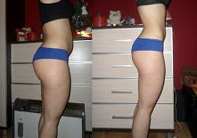 """Efekt po miesiacu i około 1 tydzień ćwiczen i """"ala"""" diety ;) .. cwi..."""