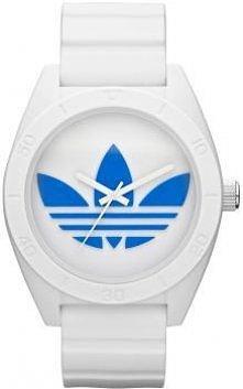 Biało - niebieski zegarek m...