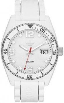 Biały zegarek damski, Adidas.