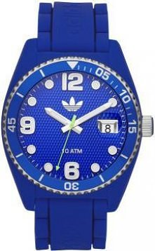 Niebieski zegarek marki Adidas