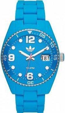 Błękitny zegarek marki Adidas