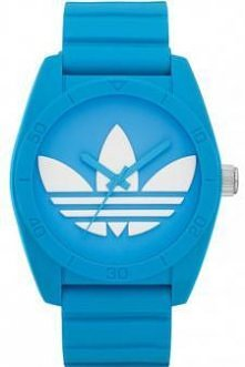 Niebiesko - biały zegarek A...