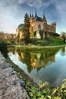 Zamek Bojnice, Słowacja