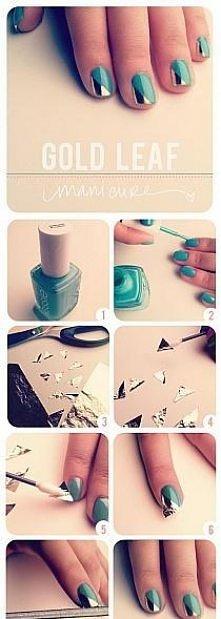Pomysł na fajne paznokcie. ☻